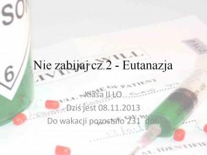 Eutanazja