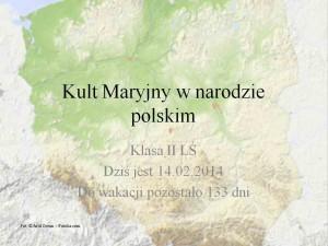 Kult Maryjny w narodzie polskim