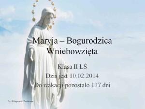 Maryja Bogurodzica wniebowzięta