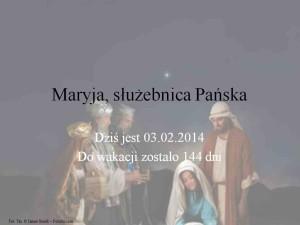 Maryja służebnica Pańska